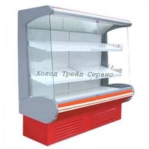 Холодильная горка Премьер ВВУП1-0,75ТУ Фортуна-1,0/ (фруктовая) с выпаривателем