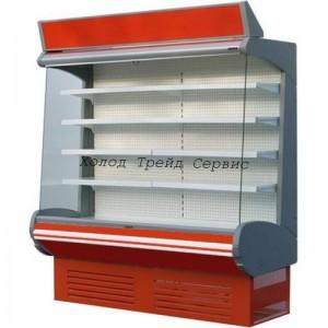 Горка холодильная Премьер ВВУП1-0,95ТУ Фортуна-1,3 (-2…+4) с выпаривателем