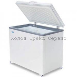 Морозильный ларь СНЕЖ МЛК-400 с глухой крышкой