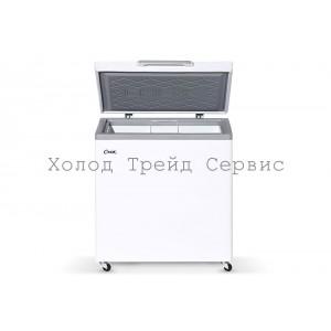 Морозильный ларь СНЕЖ МЛК-250 с глухой крышкой