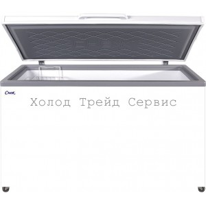 Морозильный ларь СНЕЖ МЛК-500 с глухой крышкой