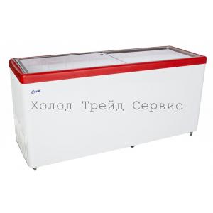 Ларь-Бонета Снеж Bonvini BF 2100 L красная