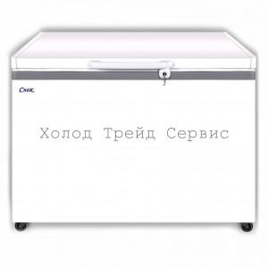 Морозильный ларь СНЕЖ МЛК-350 с глухой крышкой