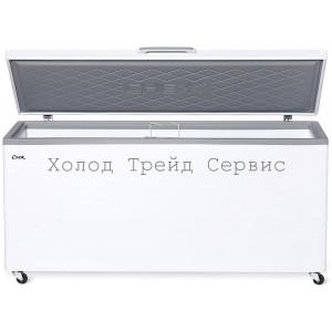 Морозильный ларь СНЕЖ МЛК-600 с глухой крышкой