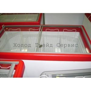Морозильный ларь СНЕЖ МЛП-600 с прямым стеклом