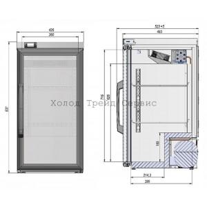 Холодильный шкаф для икры Linnafrost RB09F
