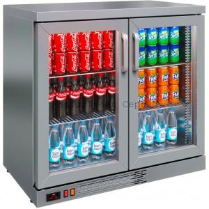 Барный холодильный шкаф Polair TD102-Grande (нерж.)