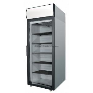 Холодильный шкаф Polair DM107-G (ШХ-0,7ДС) нерж.