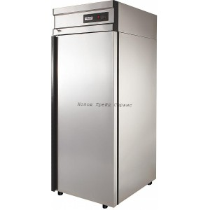 Холодильный  шкаф Polair CV107-G (нерж.)