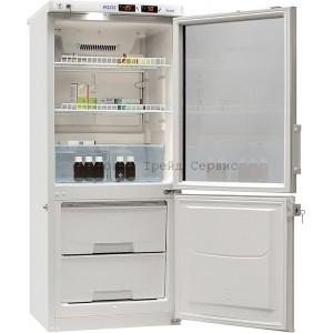 Холодильник комбинированный лабораторный POZIS ХЛ-250 (тонир. стекло)