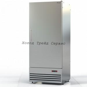 Морозильный шкаф Премьер ШНУП1ТУ-0,7 М (В, -18) нерж.