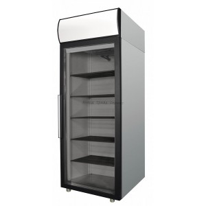 Холодильный шкаф Polair DM105-G (ШХ-0,5 ДС (нерж.))