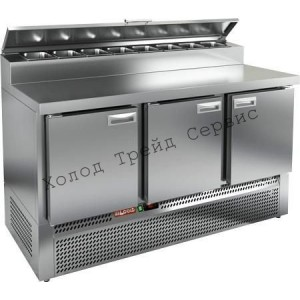 Охлаждаемый стол для пиццы Hicold PZE2-111/GN (1/6H)