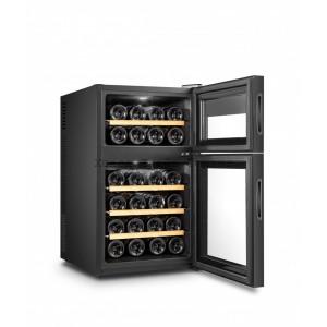 Двухзонный винный шкаф, Climadiff модель DOPPIOVINO24