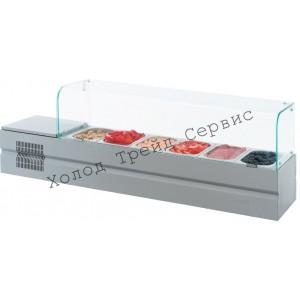 Холодильная витрина для ингредиентов Atesy Болоньезе-6