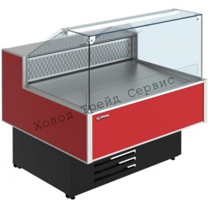 Холодильная витрина Cryspi Gamma Quadro SN 1800 LED (с боковинами)