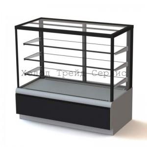 Витрина для выпечки и кондитерских изделий Carboma ВХСв - 0,9д Cube ТЕХНО