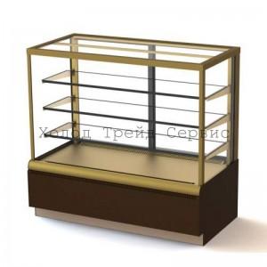 Витрина для выпечки и кондитерских изделий Carboma ВХСв - 0,9д Cube