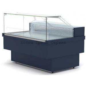 Витрина холодильная Премьер Куба Р-150 (0…+7°С) рыба на льду