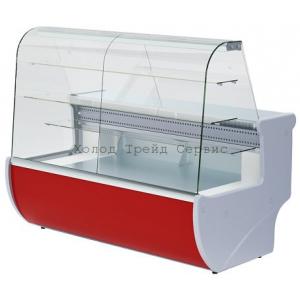 Витрина холодильная кондитерская Premier ВВУП1-0,32ТУ/П-1,2 серии «Прага»