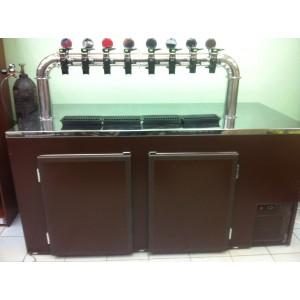 Кегератор для пива барный Б-8  (8 кег)