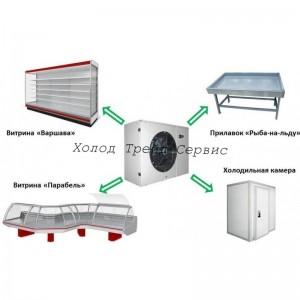 Агрегат компрессорный-конденсаторный среднетемпературный МХМ БКК ZB-15