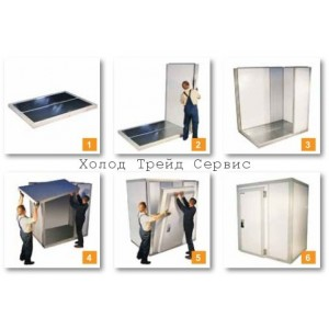 Холодильная  камера (новая) Polair КХн-8,81 (1,96х2,56х2,20)