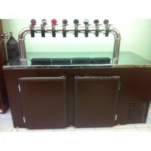 Кегератор для пива - барный Б-2 П (2 кеги)