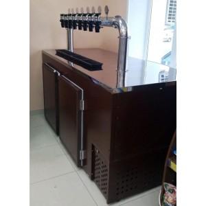 Кегератор для пива барный Б-6 (6 кег)