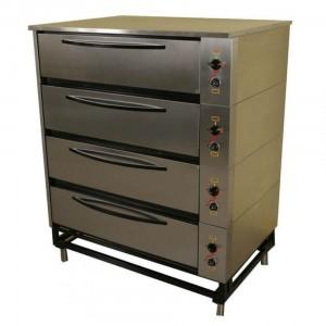 Шкаф жарочно-пекарский 4-секционный ЭШП-4с(у) нерж.