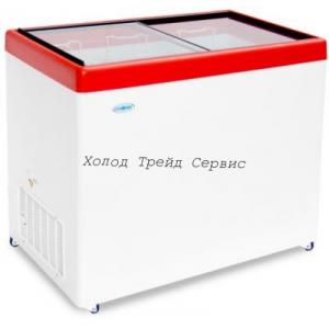 Морозильный ларь СНЕЖ МЛП-350 с прямым стеклом