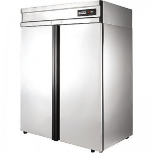 Морозильный шкаф Polair CB114-Gm нерж.