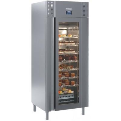 Шкаф с высоким уровнем контроля влажности Carboma PRO M700GN-1-G-HHC 9005  (сыр, мясо)