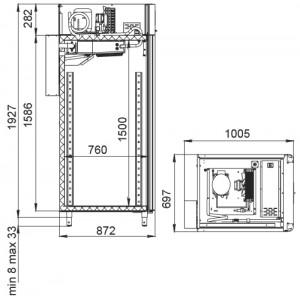 Холодильный шкаф Polair CS107-Salami (созревание колбас)