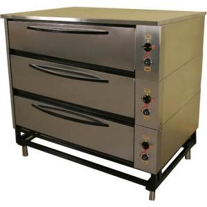 Шкаф жарочно-пекарский 3-секционный ЭШП-3с(у) нерж.
