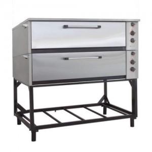 Шкаф жарочно-пекарский электрический двухсекционный с увлажнением ЭШП-2с-нерж