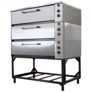 Шкаф жарочно-пекарский 3-секционный ЭШП-3с(у) оцинк.