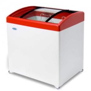Морозильный ларь СНЕЖ МЛГ-250 с гнутым стеклом