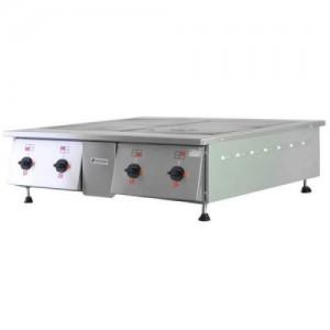 Плита электрическая 4х-конфорочная ПЭ-0,48Н настольная