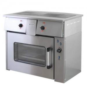 Плита электрическая 2х-конфорочная ПЭ-0,24М с жарочным шкафом