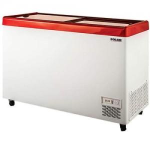 Морозильный ларь Polair Standard DF140SF-S (прямые стекла)