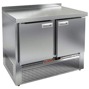 Стол морозильный HICOLD GNE 11/BT W (с бортом)